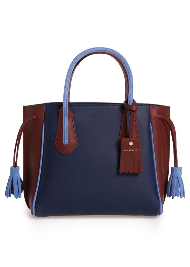 86d15a54fc4 Longchamp Longchamp Small Penelope Tri-Color Leather Tote Now $447.49