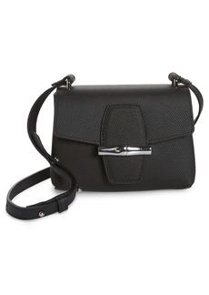 Longchamp Small Roseau Leather Crossbody Bag