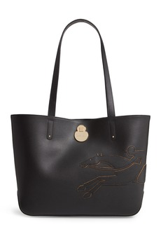 Longchamp Small Shop-It Leather Tote