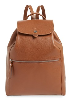 Longchamp Veau Leather Backpack