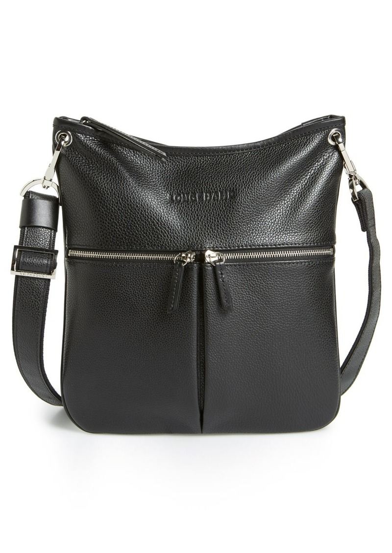 Longchamp Longchamp  Veau  Leather Crossbody Bag  9837a7ab5281f