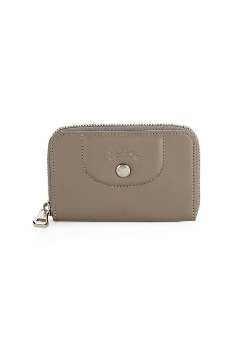 b6256d57e2 Longchamp Le Pliage Cuir Leather Zip Around Wallet | Handbags