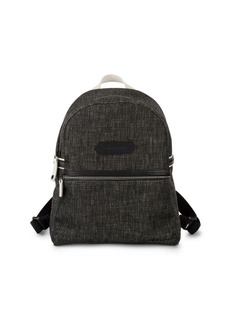 Longchamp Zippered Canvas Backpack