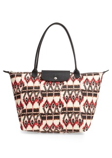Longchamp Le Pliage - Ikat Large Shoulder Tote