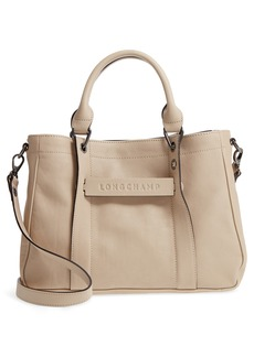 Longchamp'Small3D' Leather Tote