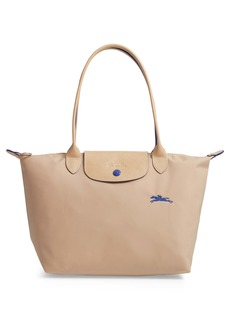 Longchamp Medium Canvas Club Shoulder Tote Bag