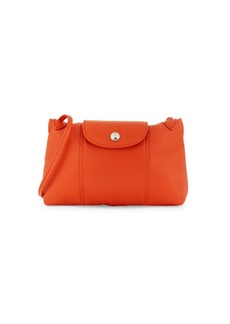Longchamp Mini Leather Crossbody Bag