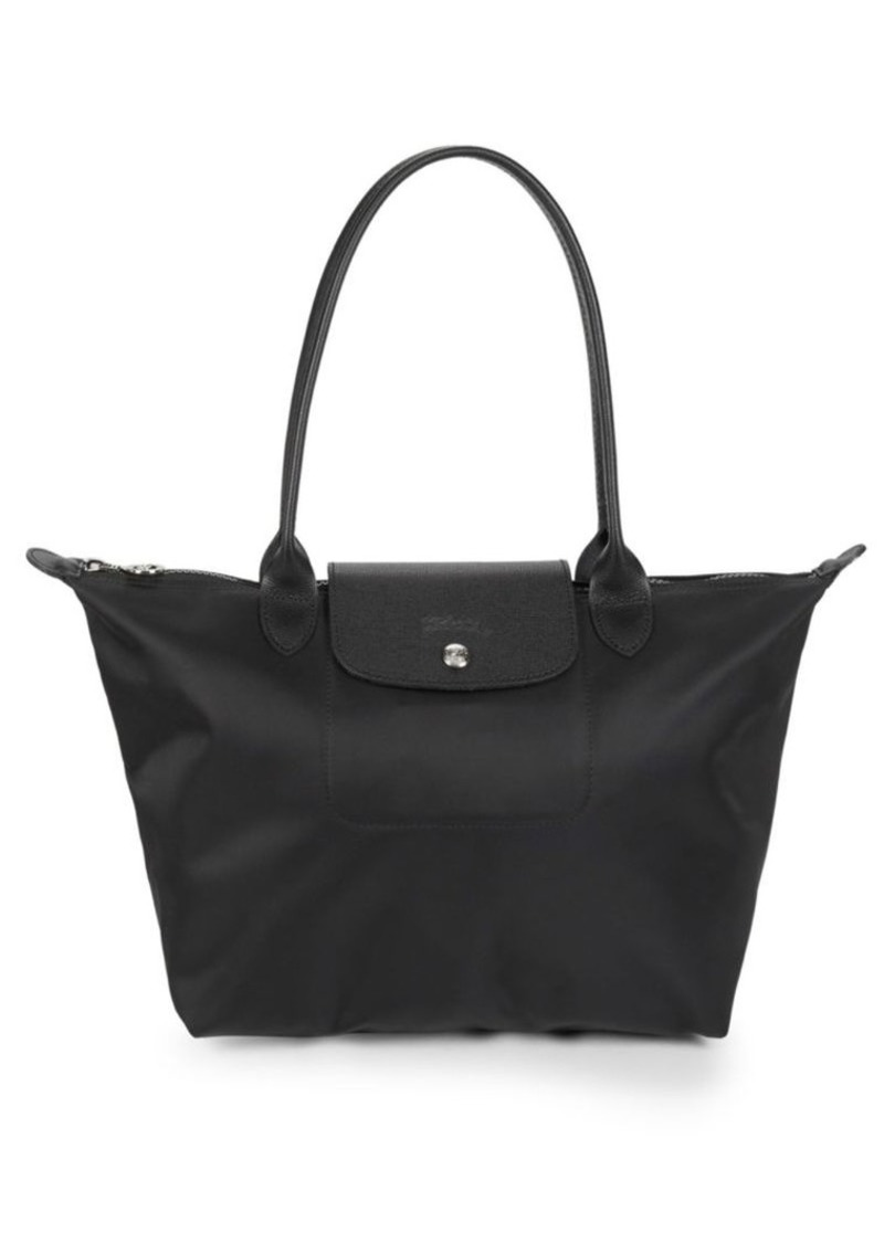 Longchamp Nylon Top Handle Bag