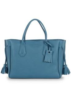 Longchamp Penelope Leather Top Handle Bag