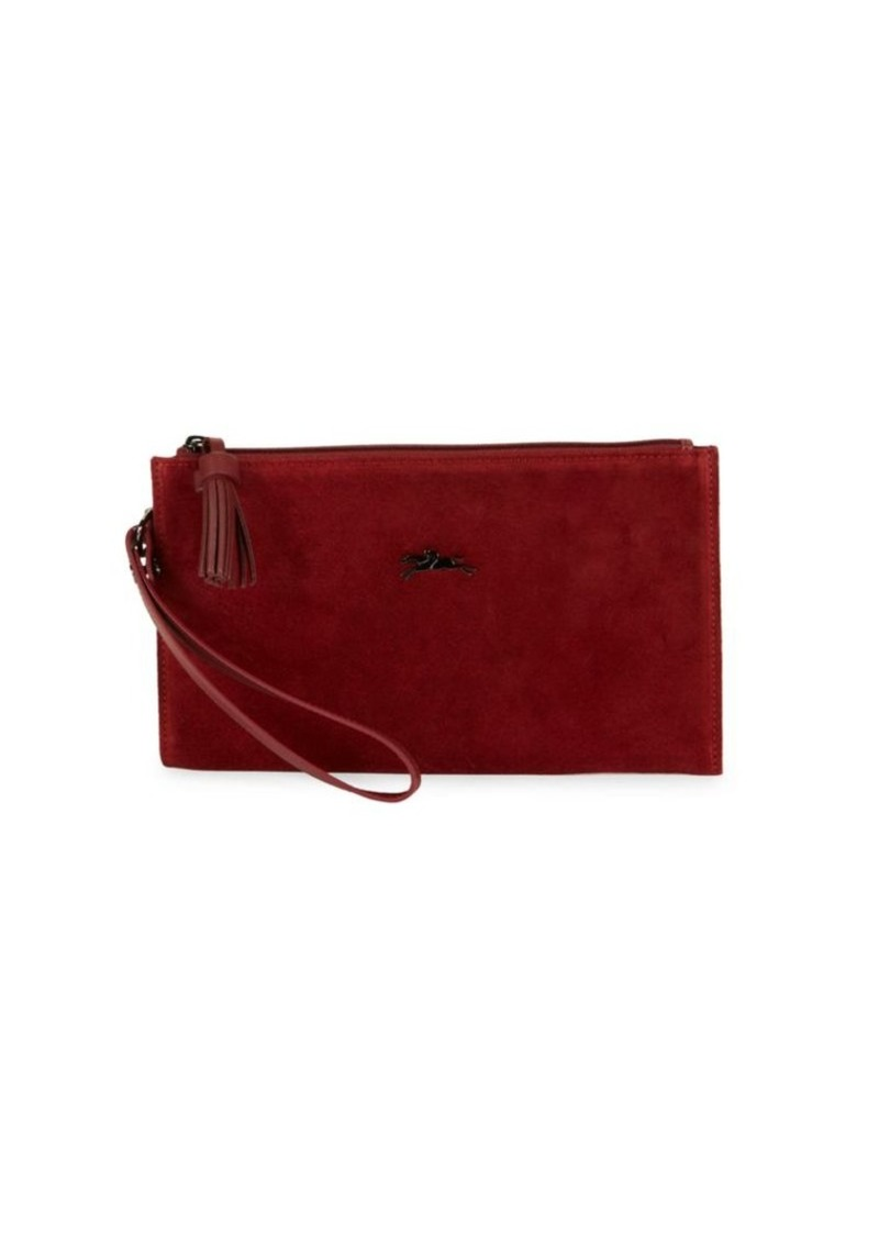 Longchamp Penelope Leather Wristlet