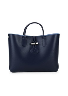 Longchamp Roseau Leather Tote
