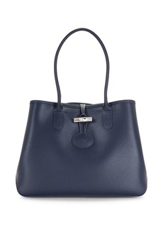 Longchamp Roseu Leather Tote