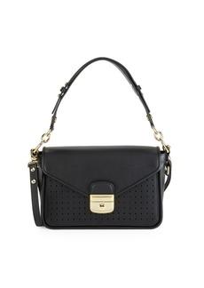 Longchamp Small Mademoiselle Leather Crossbody Bag