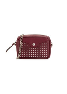 Longchamp Studded Leather Convertible Crossbody Belt Bag