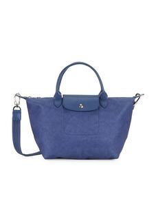 Longchamp Textured Shoulder Bag