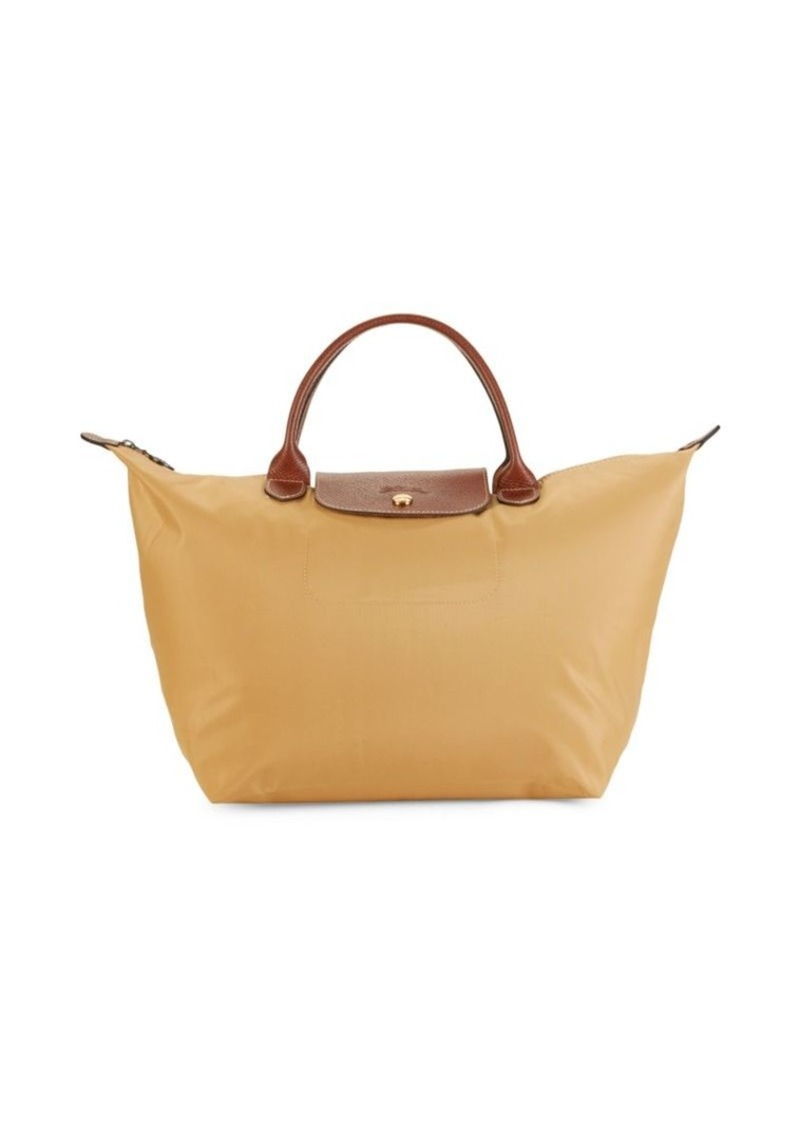 Longchamp Top-Zip Nylon Tote