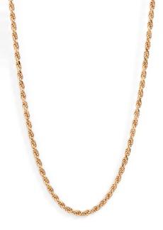Women's Loren Stewart Foxtail Chain Long Necklace