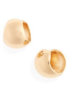 Women's Loren Stewart Moderna Bubble Huggie Hoop Earrings