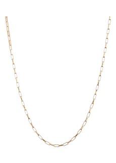 Women's Loren Stewart Moderna Long Box Link Chain Necklace