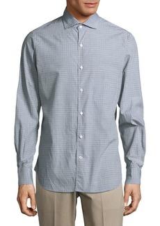 Loro Piana Alain Cotton Casual Button-Down Shirt