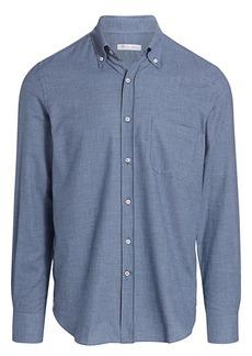 Loro Piana Alfred Houndstooth Shirt