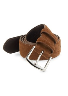 Loro Piana Alsavel Suede Belt