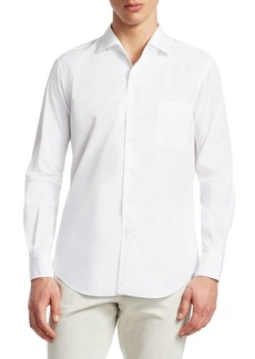 Loro Piana Andre Cotton Button-Down Shirt