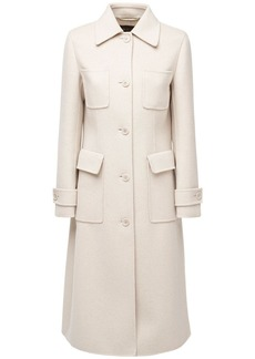 Loro Piana Baby Cashmere Belted Trench Coat