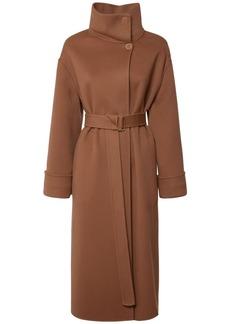 Loro Piana Baby Cashmere Double Coat W/ Belt