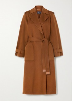 Loro Piana Belted Cashmere Trench Coat