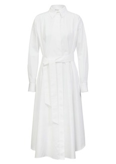 Loro Piana Caelie Poplin Midi Dress