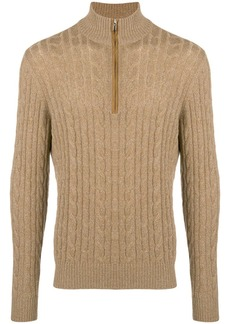 Loro Piana cashmere high neck sweater