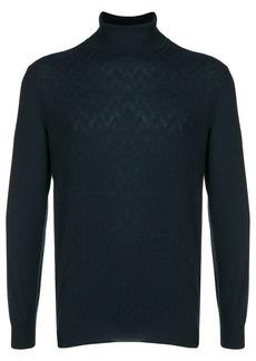 Loro Piana cashmere textured turtleneck sweater