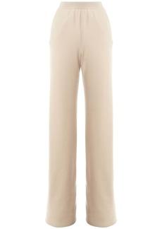 Loro Piana Cashmere Yarn Knit Pants W/waistband
