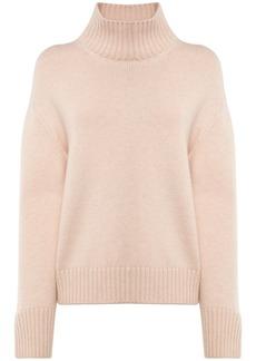 Loro Piana Cashmere Yarn Knit Turtleneck Sweater