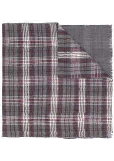 Loro Piana check print scarf
