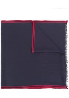 Loro Piana contrast edge scarf