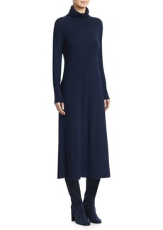 Loro Piana Conway Cashmere Turtleneck Dress