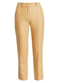 Loro Piana Derk Antigua Linen Pants