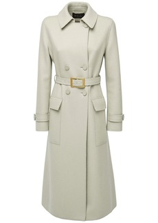 Loro Piana Melton Cashmere Trench Coat