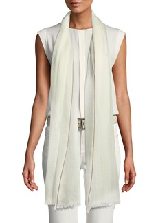 Loro Piana End-on-End Cashmere Scarf