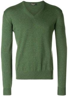 Loro Piana fine knit V-neck sweater