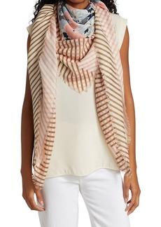 Loro Piana Flowerbed Cashmere & Silk Stole