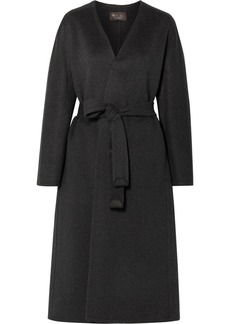 Loro Piana Gil Belted Cashmere Coat