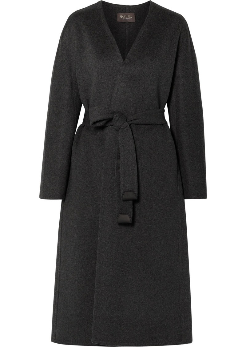 Loro Piana Gil Belted Cashmere Coat