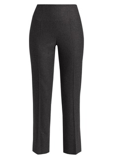 Loro Piana Gyles Cashmere Flannel Stretch Pants