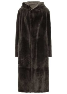 Loro Piana Harvey reversible shearling coat