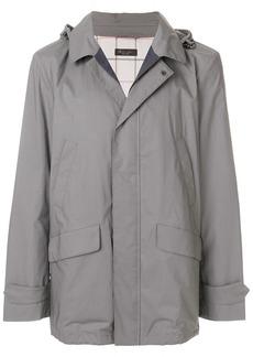 Loro Piana hooded military style jacket