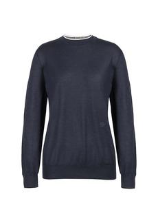 Loro Piana Leyton Cashmere & Silk Knit Sweater