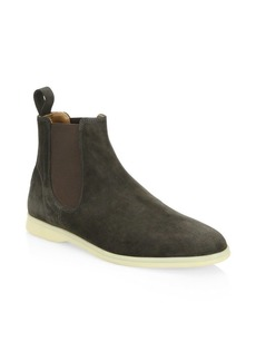 Loro Piana Light Beatle Walk Suede Boots
